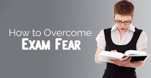 how to overcome noun e-exam fear