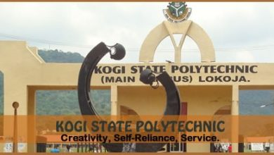 Photo of Kogi State Poly Admission Forms 2019/2020 Academic Session | ND PT, IJMB, Pre-ND & Diploma