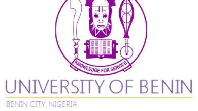 Photo of UNIBEN Post-UTME Admission Form for 2019/2020 Academic Session