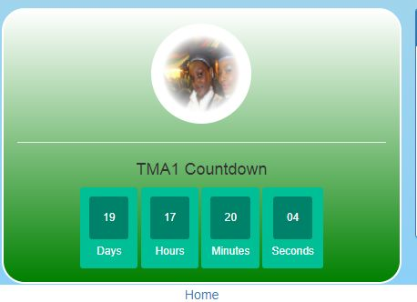 NOUN TMA submission countdown