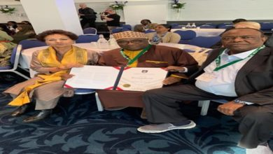 Photo of NOUN VC [Prof. Abdalla Adamu] Bags Commonwealth Fellowship