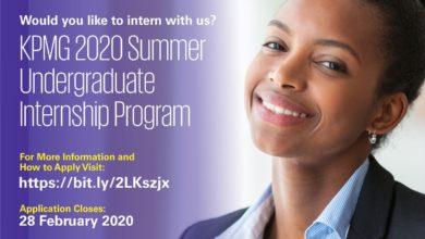 Photo of KPMG Nigeria Undergraduate Internship Program 2020