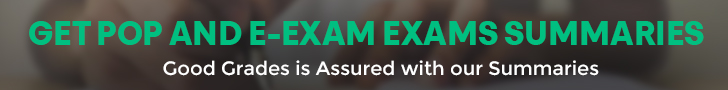 Get POP and E-EXAM Exam Summaries